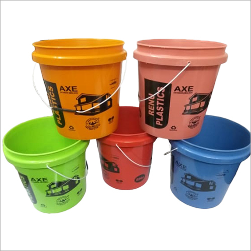 Paint Plastic Bucket