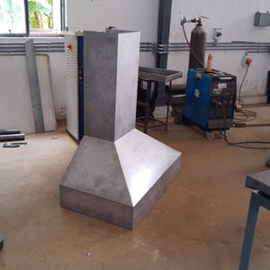 Stainless Steel Exhaust Chimney Duct