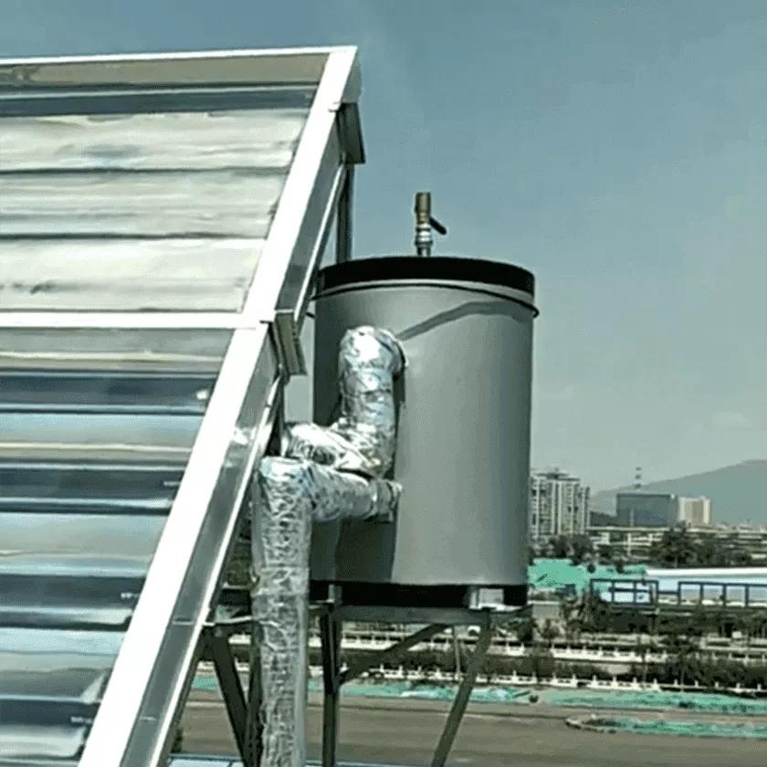 Steam-Make CPC Solar And Heat Pump Machine