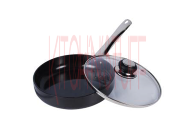 Hard Anodized Straight Fry Pan