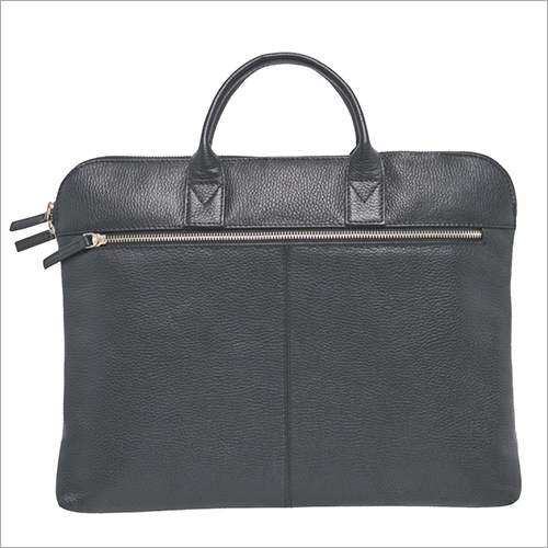 Slim Leather Laptop Bag