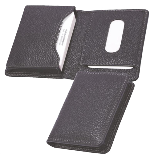 Card Case with Gusseted Pocket