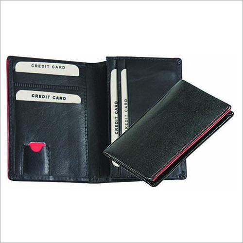 Card Holder with Edge Inking & False Stitch