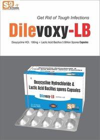 Doxycycline 100mg +Lactobacillus 5 billion Spores