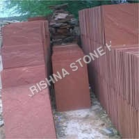 Agra Red Rough Stone