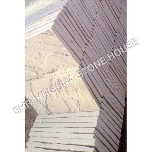 Dholpur White Rough Stone