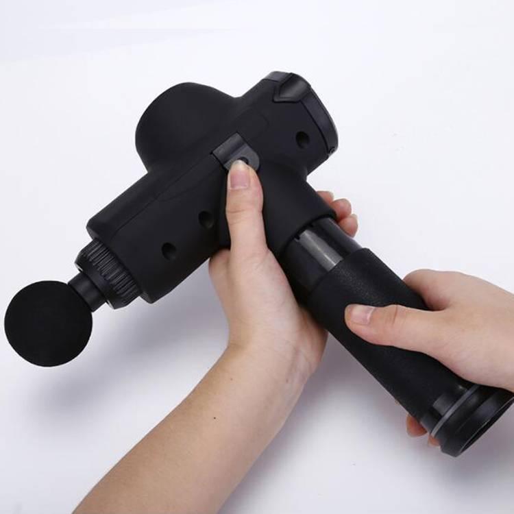 ELECTRIC HANDHELD MASSAGE GUN VIBRATING BODY NECK BACK MASSAGER