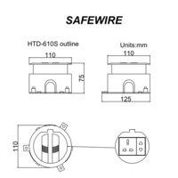 HTD-610S Safe Wire