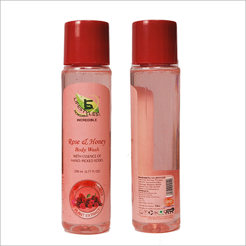 Rose and Honey Body Wash