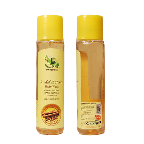 Sandal and Honey Body Wash