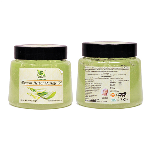 Aloe Vera Herbal Massage Gel