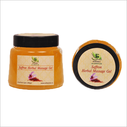 Saffron Herbal Massage Gel