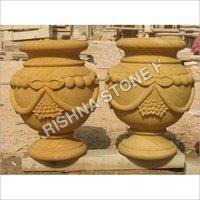 Stone Flower Pot