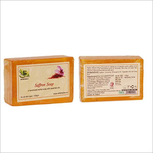 Herbal Essential Oil Saffron Soap