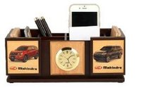 Decorative Pen Stand With Coaster Plates