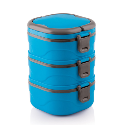 Three Containers Casserole Lunch Box