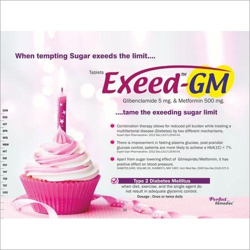 Metformin-500 mg & Glibenclamide 5 mg