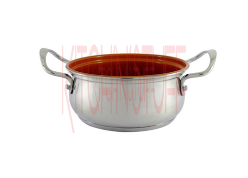 Ceramic Coated Belly Casserole