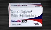 Glimperide, Metformin & Pioglitazone Combination (Extended Release)