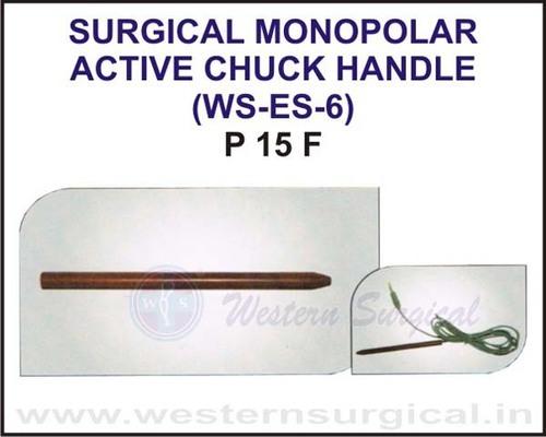Surgical Monopolar Active Chuck Handle