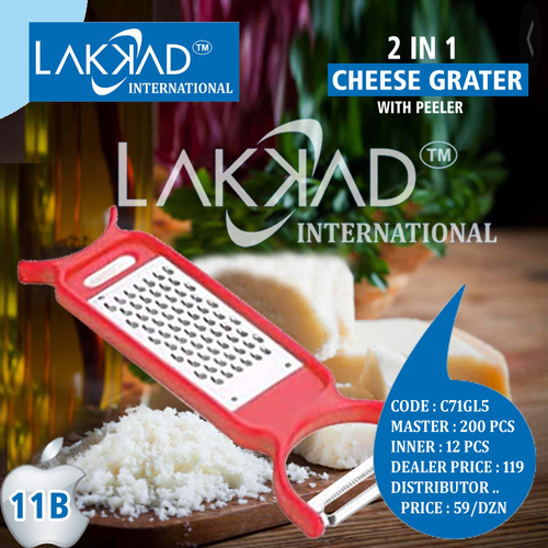 Grater With Peeler