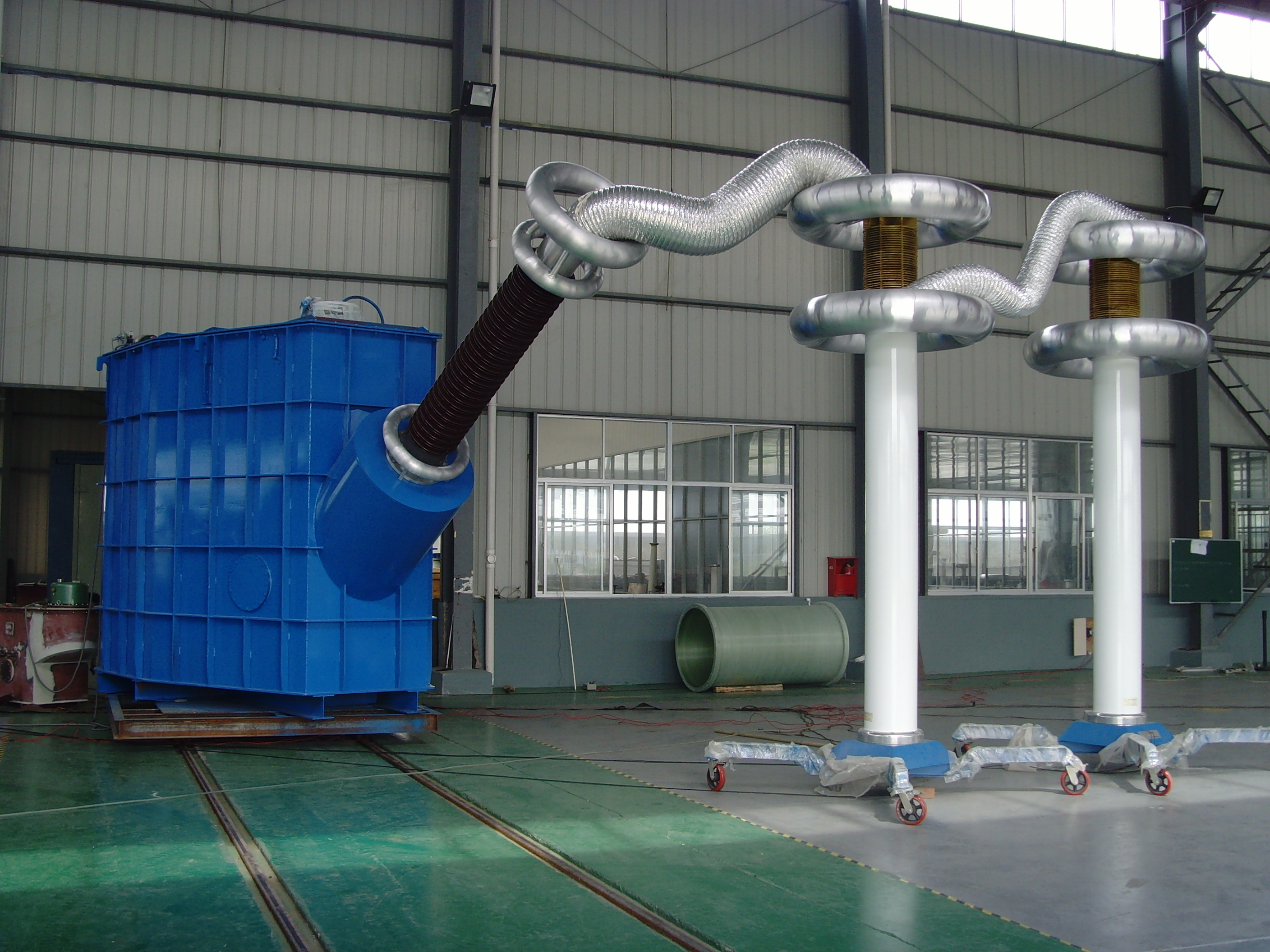 AC Resonant Test System with  Metal Tank Type