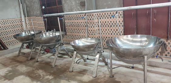 mawa/khoya making machine