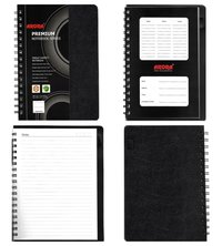 Chief Size Single Subject Premium Wiro Notebook - 70 GSM, Single Ruled, 160 Pages