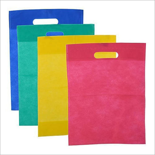Multicolour D Cut Non Woven Bag