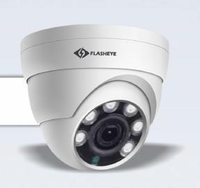 2.4 MP HD IR Dome Camera