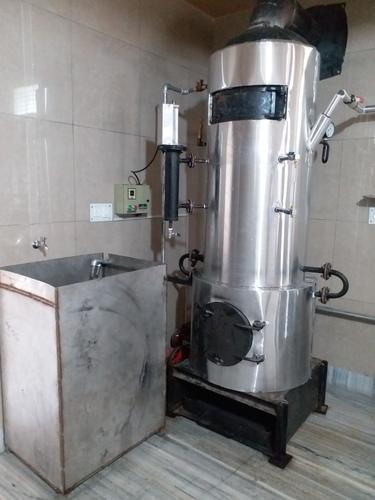 non IBR Wood Fired Vertical Steam Boiler