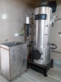 steam based non IBR boiler for making khoya / MAWA