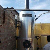 steam based non IBR boiler for making khoya / MAWA