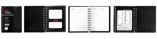 Royal Size Single Subject Premium Wiro Notebook - 70 GSM, Single Ruled, 160 Pages