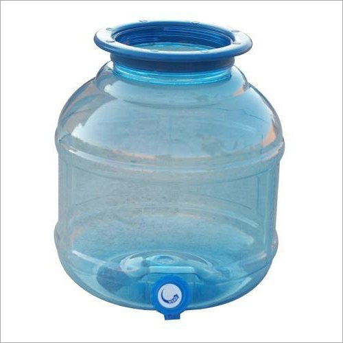 Plastic Water Dispenser Jar
