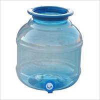 Plastic Water Dispenser Jar