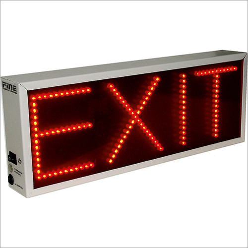 Exit Slim Fit LED Display