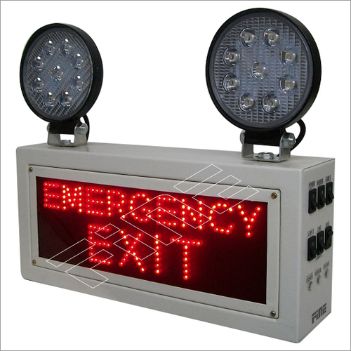 Industrial Emergency Exit Light  LED Doom