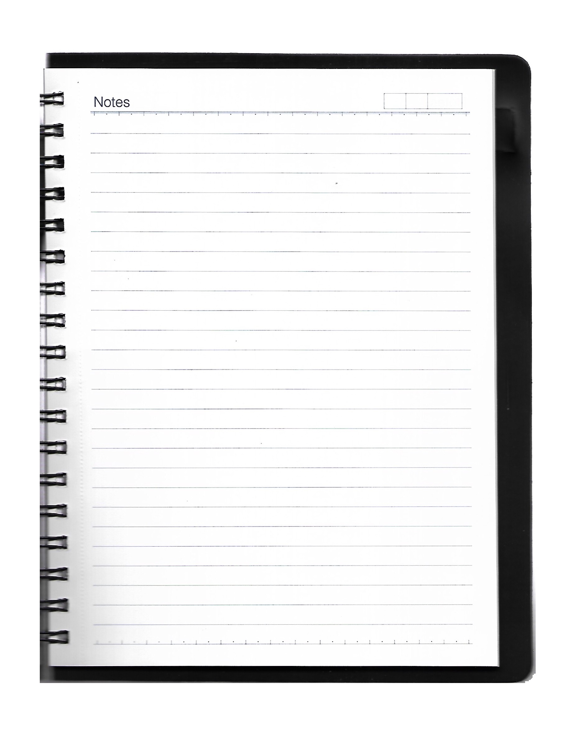 Nescafe Size Single Subject Premium Wiro Notebook - 70 GSM, Single Ruled, 160 Pages