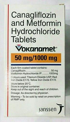 Vokanamet-Canagliflozin and  Metformin