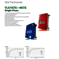 TLS1KTS~4KTS PV Pv Grid Tied Inverter