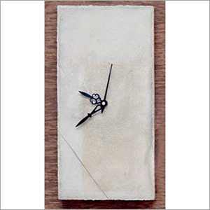 Concrete Rectangular Wall Clock