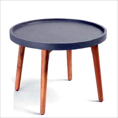 Indoor Concrete Round Table