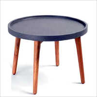 Indoor Concrete Round Table