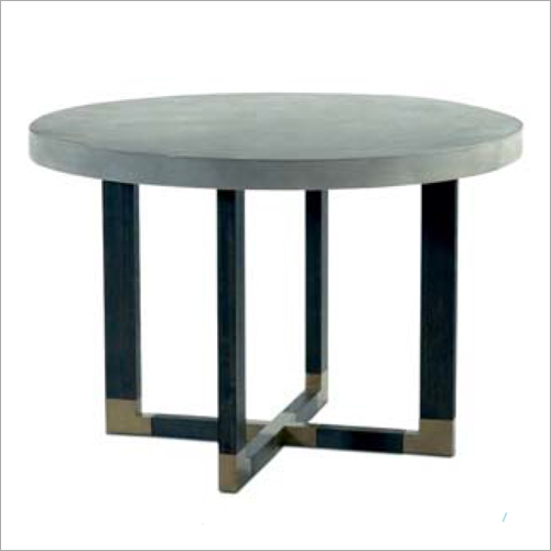 Concrete Top Round Table