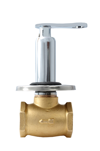 Brass Flush Cock Medium