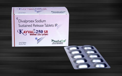 Divalproex Sodium 250 mg & 500 mg (Sustained Release)