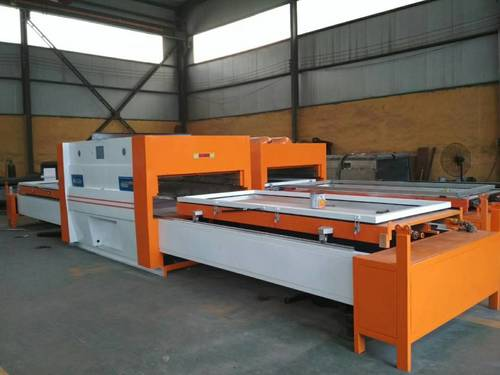 door  membrane press machine