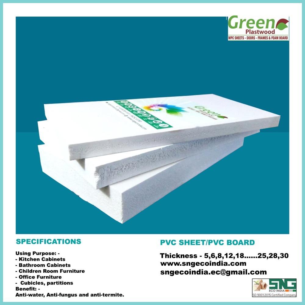 White pvc sheet