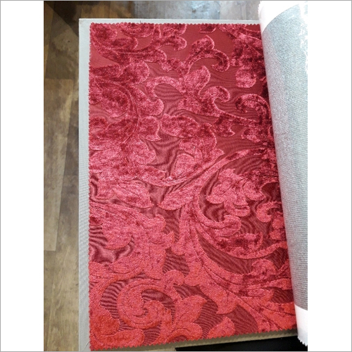 Sofa Red Designer Fabric